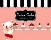 Custom Listing for Hello Kitty napkin wrappers Digital File