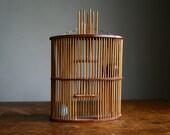 vintage cricket cage