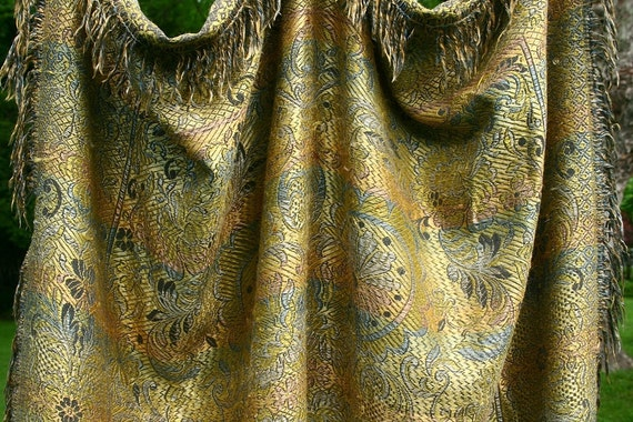 Middle Eastern tablecloth, throw, piano shawl, wall hanging