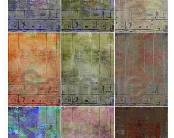 Downloadable Digital Sheet for your creative mixed media projects  Marshmellow Dreams Grunge 026