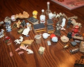 Vintage collection of Miniatures 59 pieces