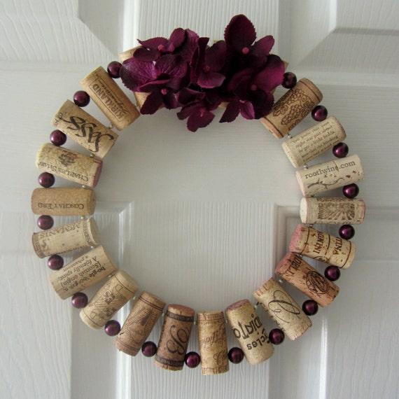 Cork Wreath: Unavailable Listing On Etsy