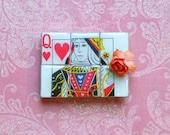MAGNET Queen of Hearts Scrabble Tiles