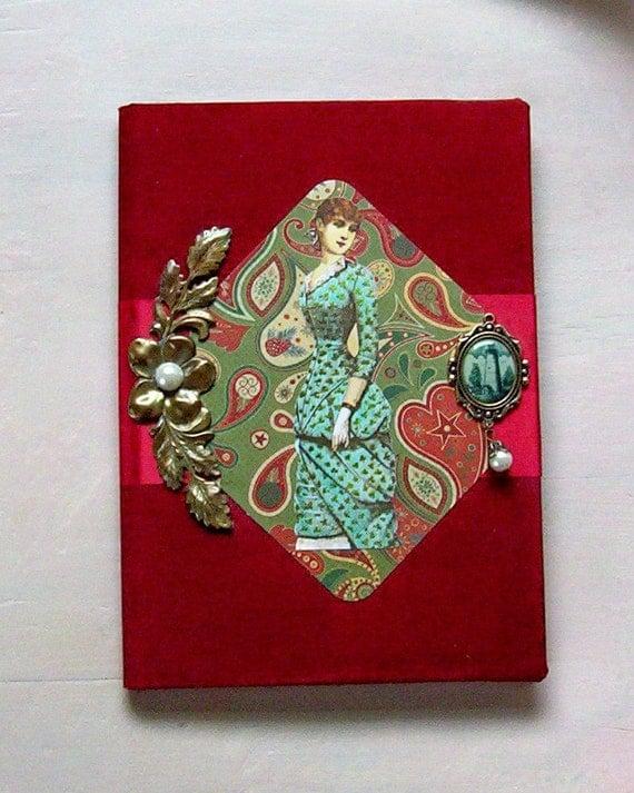 Victorian Romance Journal Hardcover Notebook