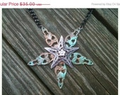 AFTER CHRISTMAS SALE Giant Star Necklace