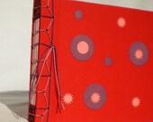 Journal japanese handbinding red circles