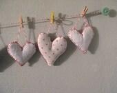 Lavender-filled Heart Sachet