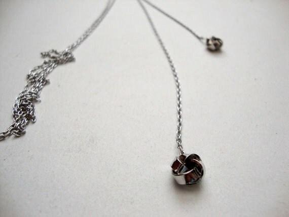sale 50% off Silver Lariat long vintage silver lariet necklace