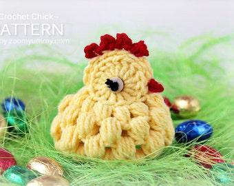 Crochet Pattern - Crochet Chick (Pattern No. 040) - INSTANT DIGITAL DOWNLOAD