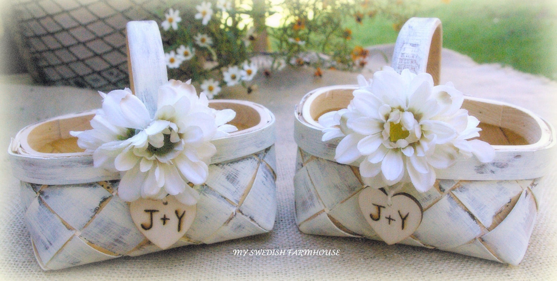 Flower Girl Basket | eBay