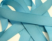 "5/8"" Grosgrain Ribbon - Antique Blue"