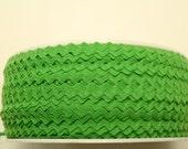"11/64"" Polyester Rick Rack - Lime Green"