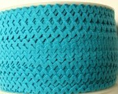 """11/64"""" Polyester Rick Rack - Turquoise"""