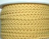 "11/64"" Polyester Rick Rack - Butter Yellow"