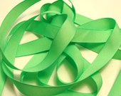 "5/8"" Grosgrain Ribbon - Mint Green - Sewing Trims"