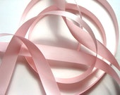 """5/8"""" Double-Faced Satin Ribbon - Light Pink -5 yards"""