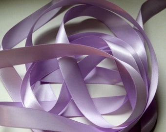"""5/8"""" Double-Faced Satin Ribbon - Orchid"""