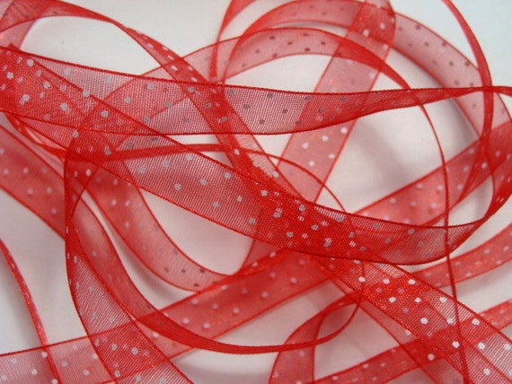 dotted red ribbon and - photo #19