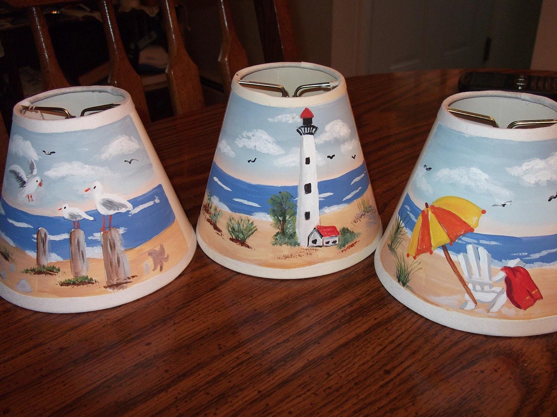Painted Lamp Shades: Hand Painted Lamp Shade. ð???zoom,Lighting