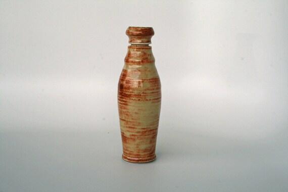 Shino Pottery Bottle