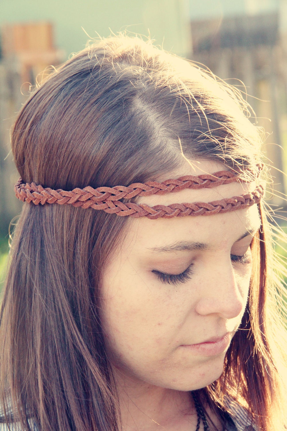 The Boho Band Double Strand Bohemian Braid Headband In