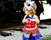 4th Of July Couture outfit,pageant,birthday,special event