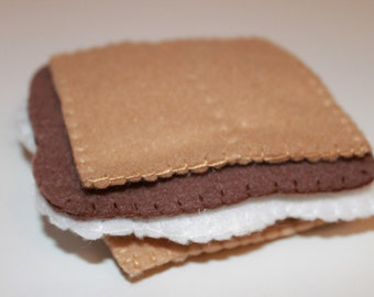 Eco Friendly Felt S'mores