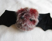 Cranberri the Scrappy Bat Stuffed Animal, Plush