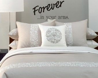 Forever in Your Arms wall decal
