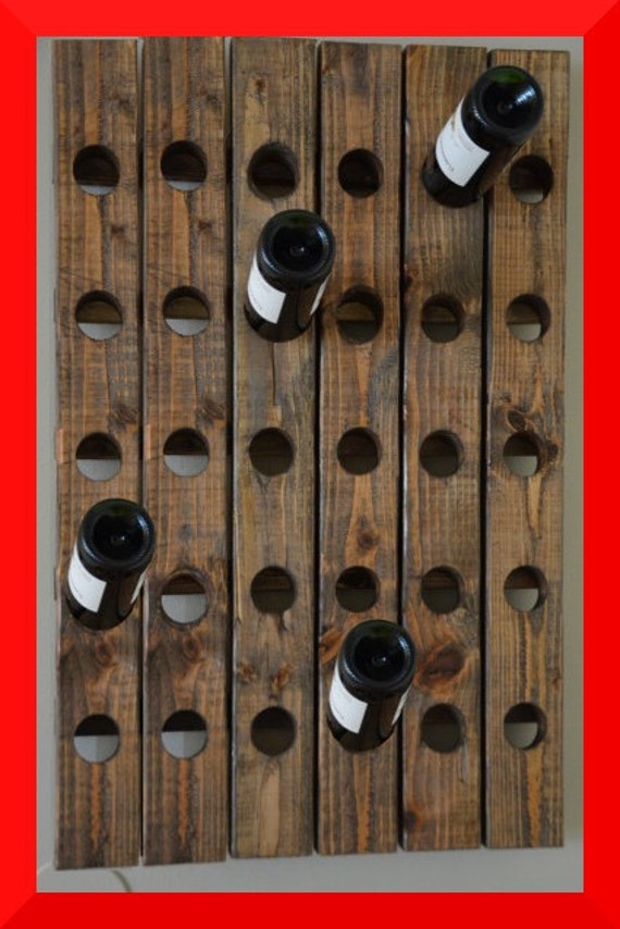 Wine Rack Riddling Wall hanging