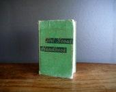 RESERVED Girl Scout Handbook, Vintage 1951 Edition Girl Scouts of America Handbook, Green Hardback Book