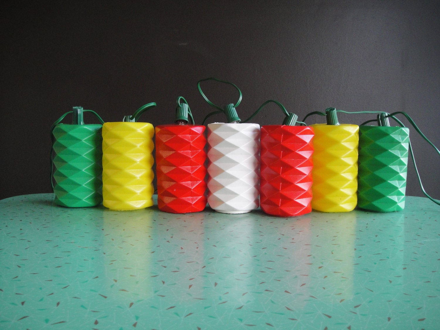 Party Patio Lantern Lights String of Seven 7