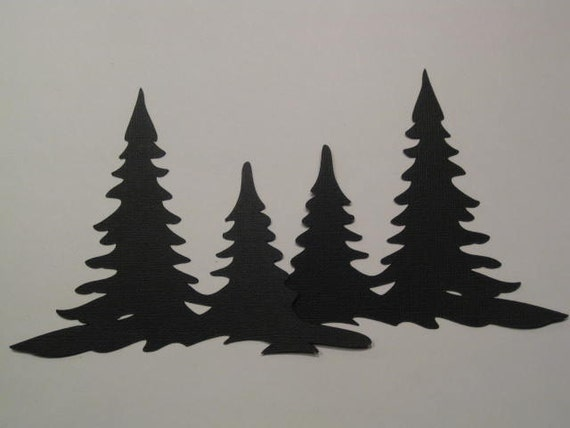 Primitive Country Christmas Trees