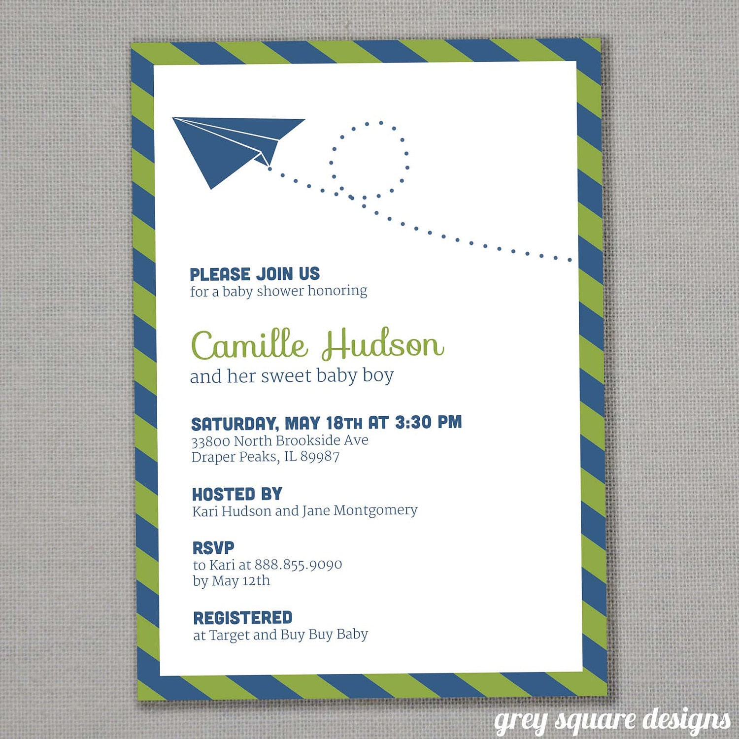 Airplane Invitations for perfect invitations example