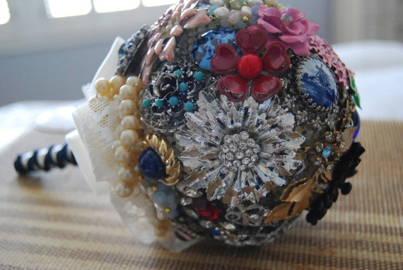 Heirloom Brooch-jewelry Bouquet Penny