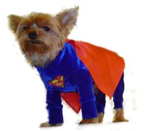 Custom made dog costumes all the cartoon heros
