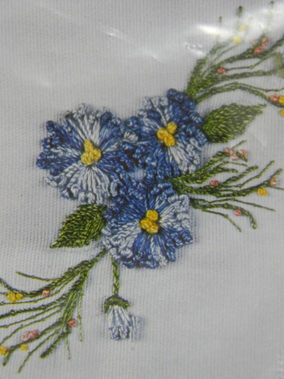 Vintage 70u0026#39;s Brazilian Embroidery Kit Pistil Flower 3D