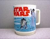 1977 collectors deka original star wars plastic mug