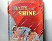 1955 Rain and Shine Vintage Childrens Book