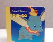 1986 DUMBO Vintage Baby Board Book