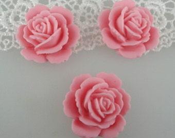 12 pcs  pale rose pink cabochon23 mm ,PALE PINK