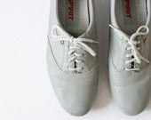 SALE Great Gray Granny Oxfords by Easy Spirit Size 8