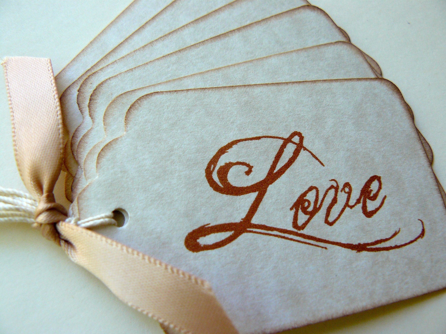 vintage love gift tags wedding favors wedding favor tags