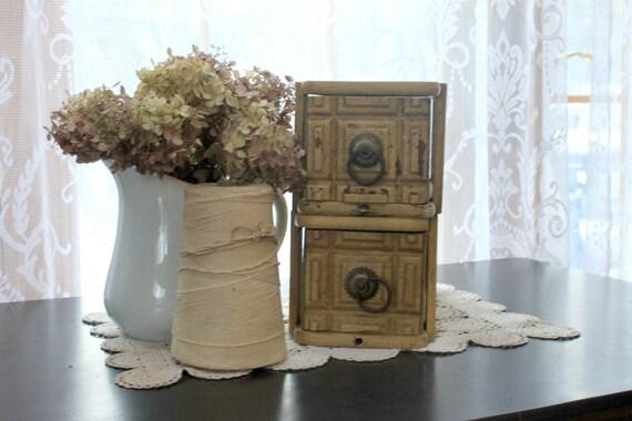 Set of Vintage Wood Drawers