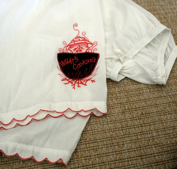 Whats Cooking Hollywood Vassarette Embroidered Pantaloons