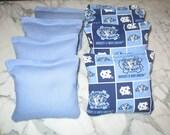 University of North Carolina UNC Tarheels Cornhole bags - Set of 8