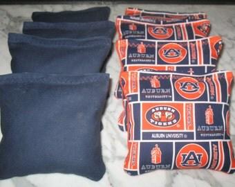 Auburn University Tigers Cornhole Bags - Set of 8 MEET ACA SPECS