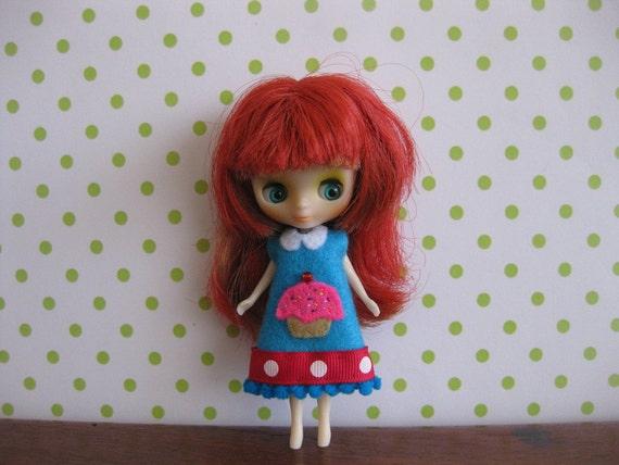 Turquoise Cupcake Dress
