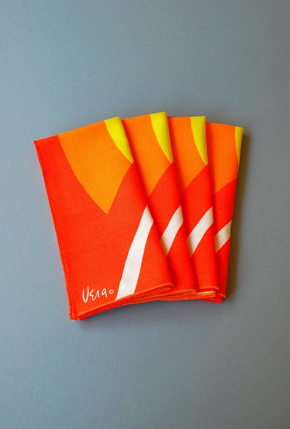 Vintage Vera Napkins - Set of Four