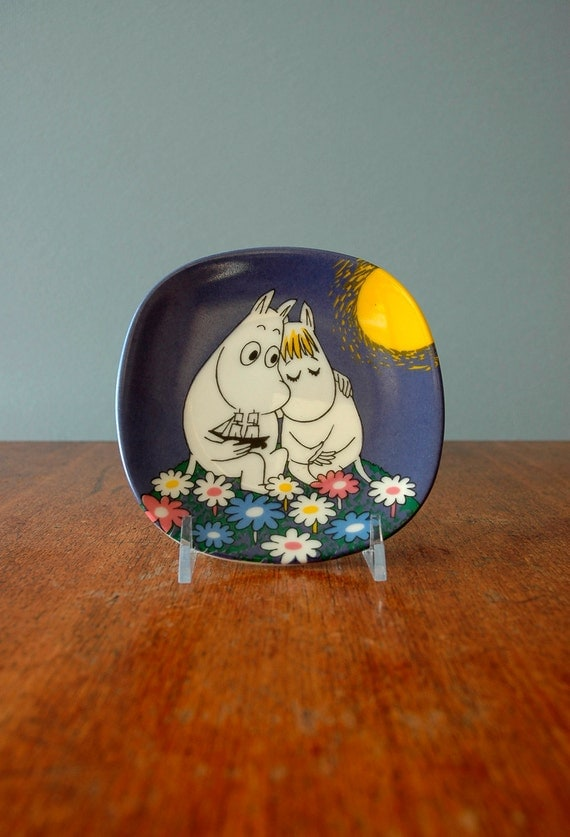 "Collectible Arabia Finland Moomin ""Moonshine"" Plate - RESERVED"